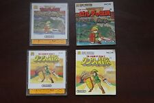 Famicom FC Disk Games The Legend of Zelda 1 + 2 US Seller
