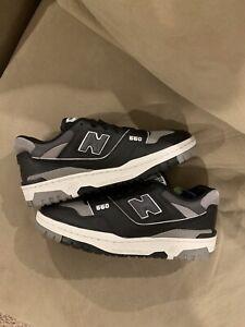 New Balance 550 Shadow Black Grey ALD BB550SR1 NEW Size 9