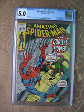 Amazing Spider-Man   #98   CGC 5.0   Drug issue   No CCA approval