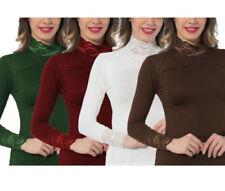 Camisas y tops de mujer de manga larga blusa talla XXL