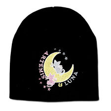 2f15dd498c4 NEW Sailor Moon   Artemis   Luna Beanie Hat   Cloth Knit Cap Tuque NWT Anime