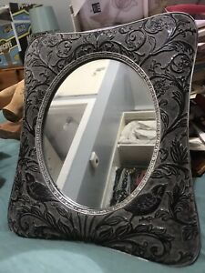 Art nouveau repro mirror. Wall or tabletop. Gorgeous!