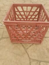 Vintage Milk Crate - Rare Shenandoah's Pride - Red Plastic Va. Dairy Advertising