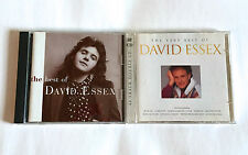 DAVID ESSEX lot of 2 title CD The Best Of & The Very Best Of