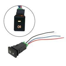 DC12V Rear Fog light Push Switch 4-Wire Button For Toyota Prius Corolla Camry
