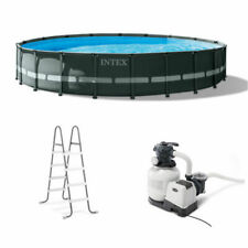 "New listing Intex 20' x 48"" Ultra Xtr Frame Round Swimming Pool Set Free Ship"