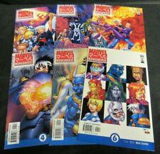 Marvel Mangaverse #1-6 (2002) Set Marvel Comics NM 9.0-9.4 N165