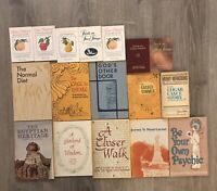 Edgar Cayce & Friends 17 Pamphlet Lot Vtg PB Psychic  A.R.E. Egyptian Heritage