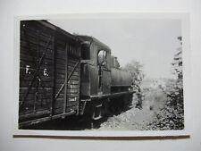 ESP684 - 1950s CANTABRICO RAILWAYS Co (Santander) ~ LOCOMOTIVE PHOTO Spain