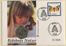 W500] BRD Numisbrief 5 DM | Umweltschutz Natur 1982 | Worbes 500