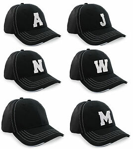 Men Women Casual Baseball Cap Sport Breathable Mesh Running Hat A-Z Letter