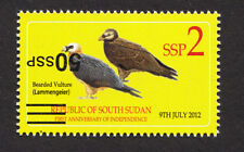 South Sudan 2017 Nh 50 Ssp Inverted on 2 Ssp Birds - Free Usa Shipping