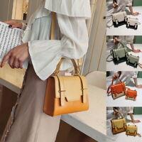 Women Fashion Adjustable Strap Crossbody Purses Contrast Color Bag Handbags Lady