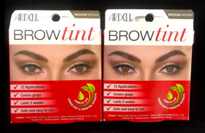 x2 Ardell Brow Tint MEDIUM BROWN 61894 (PACK OF 2)