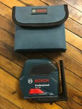Bosch Professional Gll 50 Self Leveling Cross Line Laser Used Nice