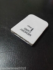 Memory Card (1 MB) 128KB 15 Block for (PS1 PSX PSOne PlayStation 1)