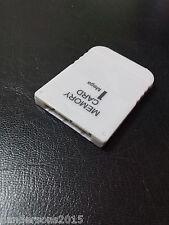 Tarjeta de memoria (1 MB) 128KB 15 bloque para (PS1 PSX PSONE Playstation 1)