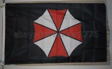 Resident Evil Umbrella Corporation 3'x5' Flag Banner 2 Zombies - USA Seller