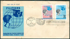 1975 Philippines INTERNATIONAL WOMEN'S YEAR First Day Cover