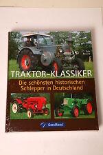 LIBRO traktor-klassiker Le più belle STORICO Trattore Della Germania Paulitz