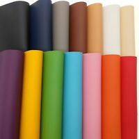 PU Faux Leather Sheets Fabric Leatherette For Sewing Bag Sofa Car Upholstery