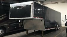 Enclosed Gooseneck Cargo Carhauler Trailer - MUST SEE ! !