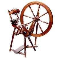 Kromski Interlude Spinning Wheel Walnut Free Shipping Special Bonus