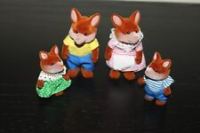 Vintage Baerenwald Forest Families Fuchs Fox Sylvanian Family VERY RARE