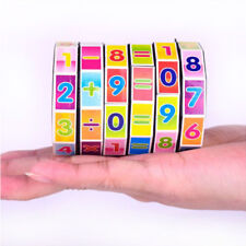 Magic Digital Cube Mathematics Digital Numbers Puzzle Game Educational Toy Gift
