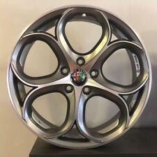 """Cerchi in lega Alfa Giulia Giulietta Stelvio Brera 159 da 18"""" NUOVI OFFERTA PSW"""