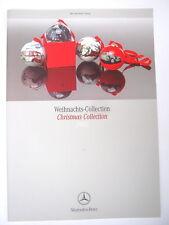 KATALOG MERCEDES BENZ CHRISTMAS WEIHNACHTS-COLLECTION 2005 26 SEITEN FARBIG UHR