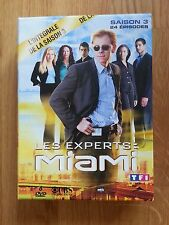 Coffret DVD Les experts Miami Saison 3