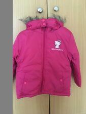 Girls Hello Kitty Pink Coat With Detachable Hood