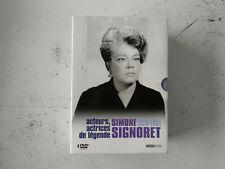 Coffret 4 DVD Simone Signoret Chat/etoile nord/police python 357/veuve couderc