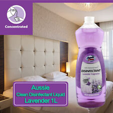 Disinfectant Liquid Solution Antibacterial Lavender Fragrance 1L Multi Surface
