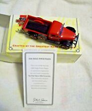 MATCHBOX 1946 DODGE POWER WAGON 4X4 PICKUP TRUCK, 1:43 DIE-CAST, VGC WITH COA