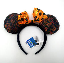 Disney Parks Mickey Sequins Minnie Mouse Ears New Halloween Party Cos Headband