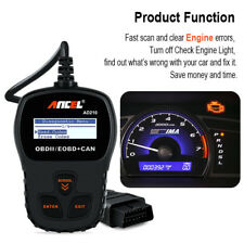 Universal Car OBD2 Auto Diagnostic Scan Tool OBDII EOBD Engine Error Code Reader
