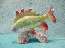 Vintage Retro - Rainbow Oil Fish Trout Fishing - Foreign Ceramic Ornament IRISH?