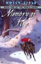 World Gates: Memory of Fire Bk. 1 by Holly Lisle (2002, Paperback)