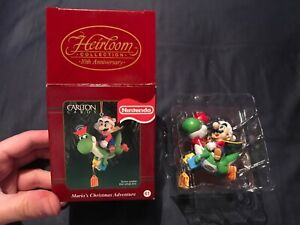 Carlton Cards Nintendo Mario's Christmas Adventure Yoshi Ornament