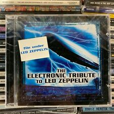 THE ELECTRONIC TRIBUTE TO LED ZEPPELIN // Various [CD, NEW] SEALED