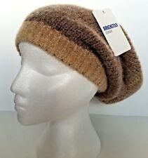 e2779778b00 Birkenstock Womens Beanie Cap Fashion Fade Hat Camel Woolen Blend