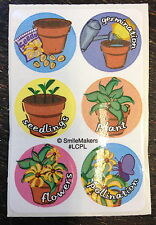 25 Sheets Plant Life Cycle Stickers Teacher Supply