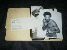 Original COLORCRAFT Printer's Portfolio For 1960-70s PAT O'GRADY Boxing Promoter