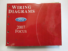 2007 Ford FOCUS Electrical Wiring Diagrams Service Shop Repair Manual USED EWD