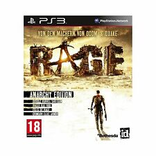 RAGE Limited Anarchy Edition PS3 Playstation 3 UNCUT NEU OVP Blitzversand!
