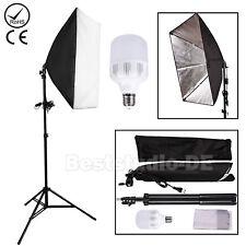 Fotostudio set Softbox LED Fotolampe Studioleuchte Studiolampe Lampenstativ