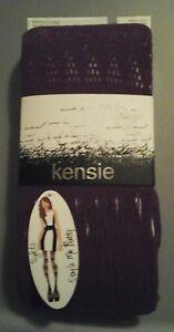 Kensie, women's med/large, tights, purple,  design, NWT $14