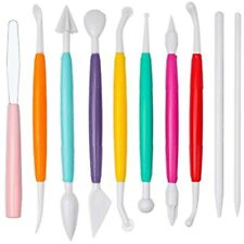 10 Pieces Clay Tools, Plastic Sculpting Polymer Ceramic Pottery Kit For Shaping